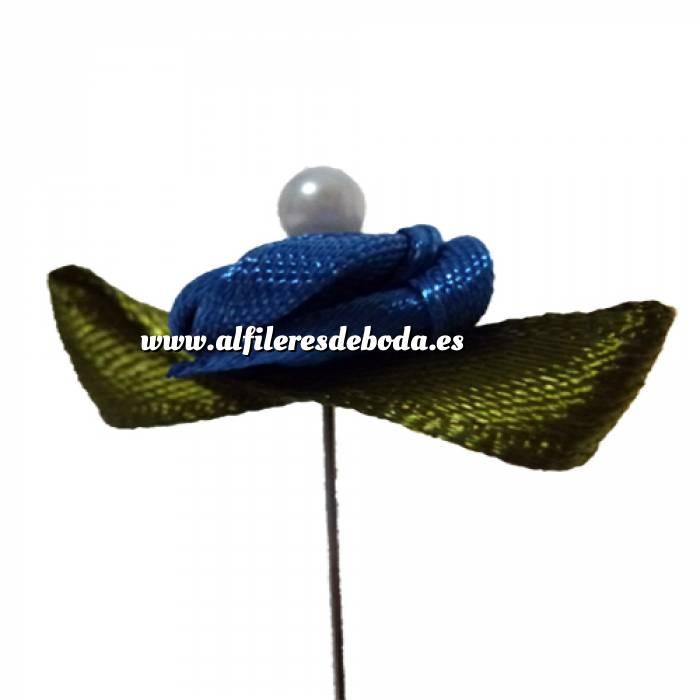 Imagen Alfileres OUTLET Alfiler clásico 03 (raso-turquesa) (Últimas Unidades)