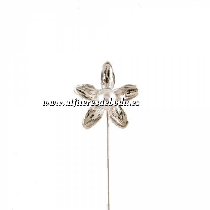 Imagen Alfileres OUTLET Alfiler Especial 26 (lilium pequeño blanco) (Últimas Unidades)