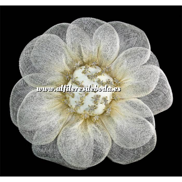 Galería de alfileres de novia originales. Fotos de preparados alfiler especial 77 sobre Bouquet margarita para alfileres Beige (A)